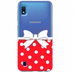 Etui na Samsung Galaxy A10 - Gustowna kokardka.