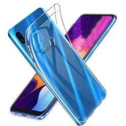 Etui na Galaxy A20e silikonowe, przezroczyste crystal case.