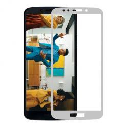 Motorola Moto G7 Power hartowane szkło 5D Full Glue - Biały.
