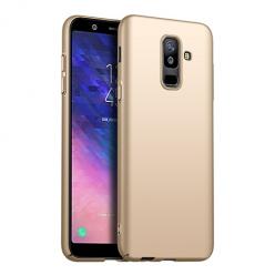 Etui na telefon Galaxy A6 Plus 2018 - Slim MattE - Złoty.