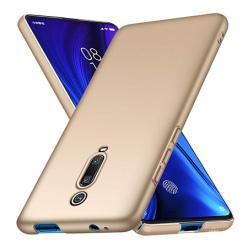 Etui na telefon Xiaomi Mi 9T - Slim MattE - Złoty.