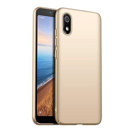 Etui na telefon Xiaomi Redmi 7A - Slim MattE - Złoty.