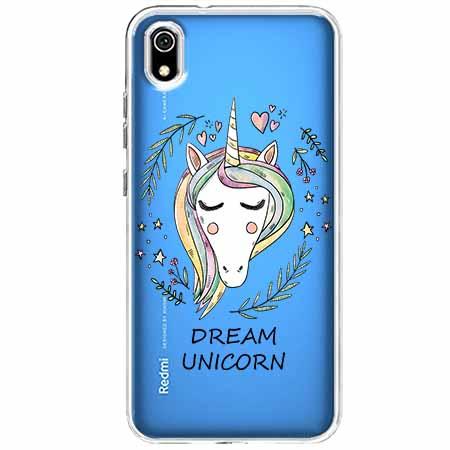 Etui na Xiaomi Redmi 7A - Dream unicorn - Jednorożec.