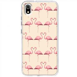 Etui na Xiaomi Redmi 7A - Flamingi