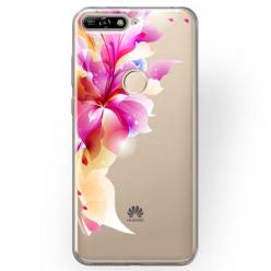 Etui na Huawei Y6 Prime 2018 - Bajeczny kwiat.