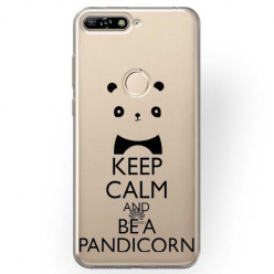 Etui na Huawei Y6 Prime 2018 - Keep Calm… Pandicorn.