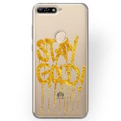 Etui na Huawei Y6 Prime 2018 - Stay Gold.