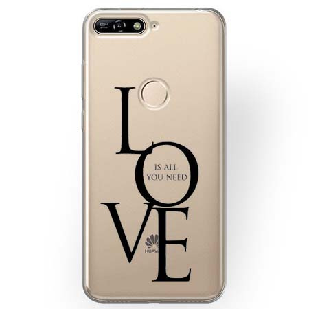 Etui na Huawei Y6 Prime 2018 - All you need is LOVE.