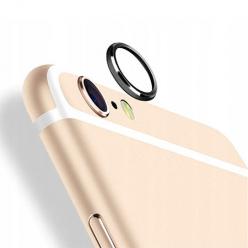iPhone 8 Hartowane szkło na Tylny aparat z ramką Alu