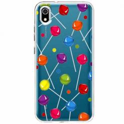 Etui na telefon Huawei Y5 2019 - Kolorowe lizaki.