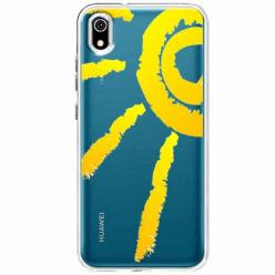 Etui na telefon Huawei Y5 2019 - Wakacyjne słońce.