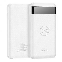 Oryginalny Hoco Indukcyjny Power bank QI 10 000mAh - Biały