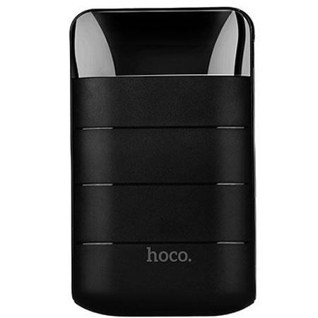 HOCO Power bank ładowarka 10 000mAh z LCD - Czarny