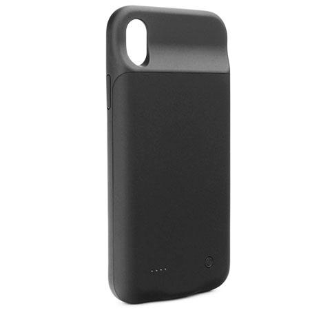 iPhone X Etui Power bank bateria zewnętrzna 300mAh - Czarny