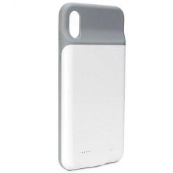 iPhone XS Etui Power bank bateria zewnętrzna 300mAh - Biały