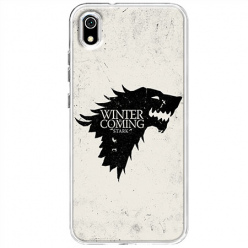 Etui na telefon Huawei Y5 2019 - Winter is coming Black