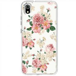 Etui na telefon Huawei Y5 2019 - Polne kwiaty