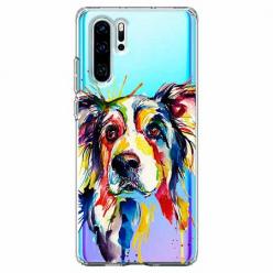 Etui na telefon Huawei P30 Pro - Watercolor pies.