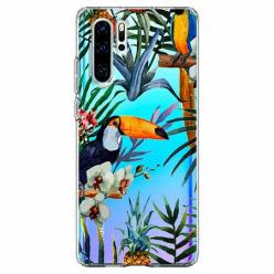 Etui na telefon Huawei P30 Pro - Egzotyczne tukany.