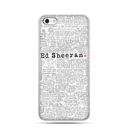 Etui na Apple iPhone 6 plus - Ed Sheeran jasny