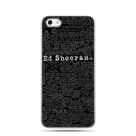 Etui na Apple iPhone 6 plus - Ed Sheeran ciemny