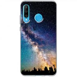 Etui na telefon Huawei P30 Lite - Droga mleczna Galaktyka