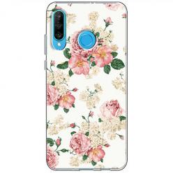 Etui na telefon Huawei P30 Lite - Polne kwiaty