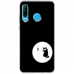 Etui na telefon Huawei P30 Lite - Kotek