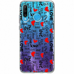 Etui na telefon Huawei P30 Lite - Love, love, love…