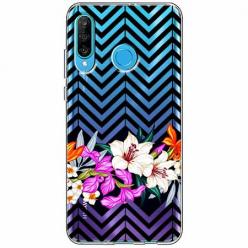 Etui na telefon Huawei P30 Lite - Kwiatowy bukiet dla Ciebie.