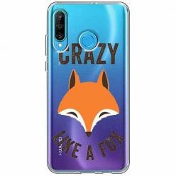 Etui na telefon Huawei P30 Lite - Crazy like a fox.