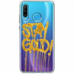 Etui na telefon Huawei P30 Lite - Stay Gold.