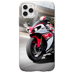 Etui na telefon Apple iPhone 11 Pro Max - Motocykl ścigacz