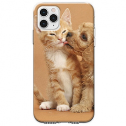 Etui na telefon Apple iPhone 11 Pro Max - Jak pies z kotem