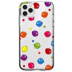 Etui na telefon Apple iPhone 11 Pro Max - Kolorowe lizaki.