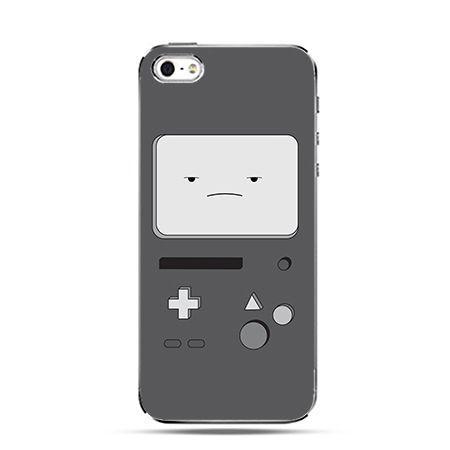 Etui na iPhone 6 plus - Gameboy szary