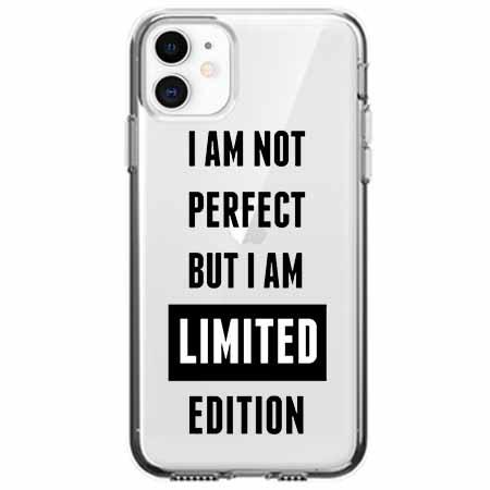 Etui na telefon Apple iPhone 11 - I Am not perfect…