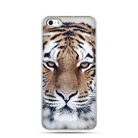 Etui na Apple iPhone 6 plus - Śnieżny tygrys