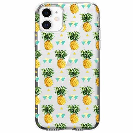 Etui na telefon Apple iPhone 11 - Ananasowe szaleństwo.