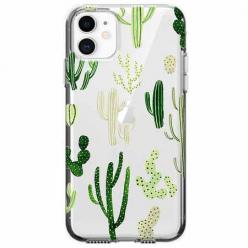 Etui na telefon Apple iPhone 11 - Kaktusowy ogród.