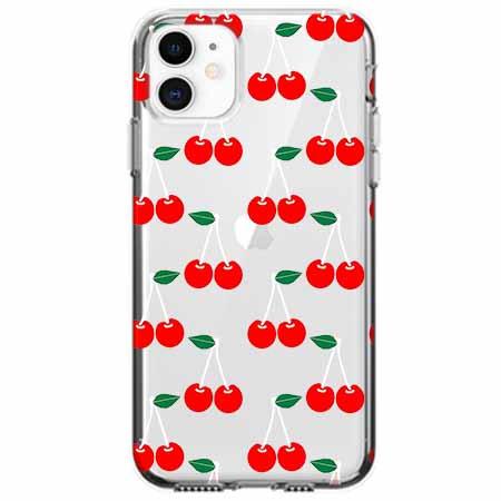 Etui na telefon Apple iPhone 11 - Wiśniowa plejada.
