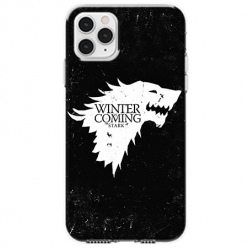 Etui na telefon Apple iPhone 11 Pro - Winter is coming White