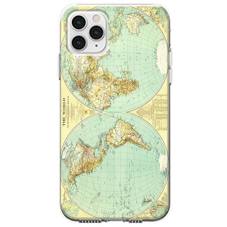 Etui na telefon Apple iPhone 11 Pro - Mapa świata