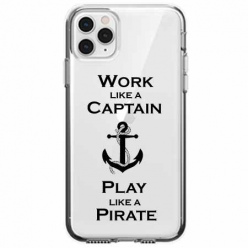 Etui na telefon Apple iPhone 11 Pro - Work like a Captain…