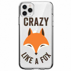 Etui na telefon Apple iPhone 11 Pro - Crazy like a fox.
