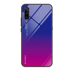 Etui na telefon Xiaomi Mi 9 SE - Ombre Glass - Niebiesko/Rózowy.