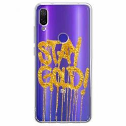 Etui na Xiaomi Redmi Note 7 Pro - Stay Gold.
