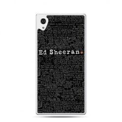 Ed Sheeran czarny etui z nadrukiem dla Xperia Z2