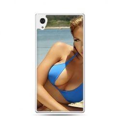 Kobieta w bikini etui z nadrukiem dla Xperia Z2