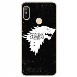 Etui na Xiaomi Mi A2 Lite - Winter is coming White